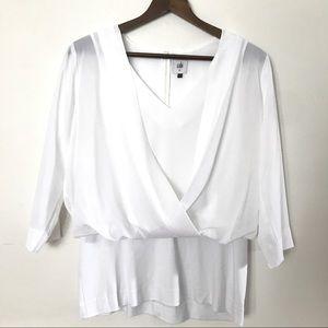 CAbi Tops - Cabi   white blouse size M